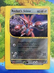 Pokemon Rocket's Scizor #4 Best of Promo Near Mint English