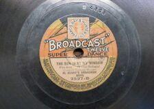 78 rpm AL BENNY`S BROADWAY BOYS sun is at my window / if i had a talkin picture