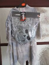CHILDS GRUESOME GHOST REAPER FANCY DRESS HALLOWEEN 3-4 YEARS COSTUME NEW