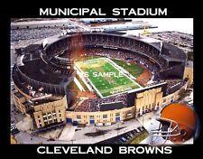 Cleveland Browns - MUNICIPAL STADIUM - Fridge Magnet