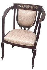 Beautiful antique armchair *Free Shipping* Mahogany Empire style hall chair