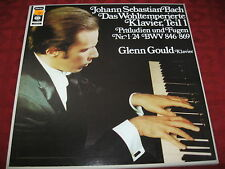 2 LP BOX Glenn Gould J.S. BACH il temperato pianoforte parte 1 Präludien CBS