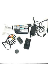 Sony Handycam DCR-TR7000 Digital8 Video8 HI8 Camcorder VCR Player Video Transfer
