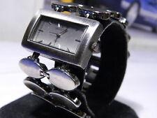 Women's Ashley Stewart Wide Band Retro Styled Watch with 1 Year Warranty!