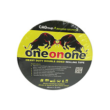 Consolidated Alloys ONE-ON-ONE BUTYL RUBBER DOUBLE SIDED SEALING TAPE 48mmx5m