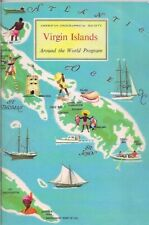 American Geographical Society-VIRGIN ISLANDS-around the world program-1969.