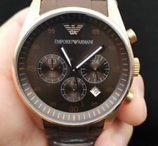 New Old Stock EMPORIO ARMANI AR5890 Chronograph Date Quartz Men Watch