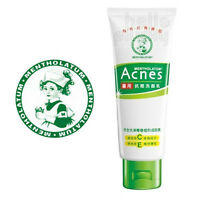 [MENTHOLATUM] Acnes Creamy Face Wash Vitamin C & E Medicated Cleanser 100g NEW