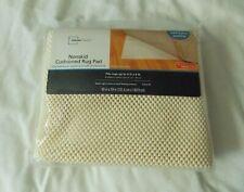 Mainstays Nonskid Cushioned Rug Pad 4 ft. x 6 ft. Cream NIP