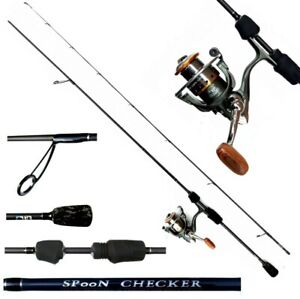 Skorpion ultra light Angelset Lizard PKS 1000 und Spoon Checker 198cm Rute