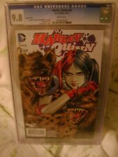 Harley Quinn 8 VARIANT CGC 9.8 Dan Panosian Cover - Rare - HTF