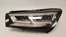 2017 2018 AUDI Q5 SQ5 HEADLIGHT DRIVER LEFT FULL LED 17 18 OEM NICE 80A941033B