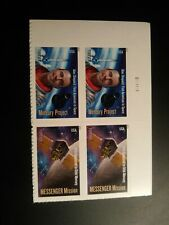 US 2011 Scott #4528a(forever) Space Firsts Plate number block of 4 MNH Pl #11111