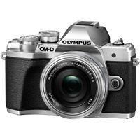 Olympus OM-D E-M10 Mark III Digital Camera (Silver) w/14-42mm EZ Lens #CR