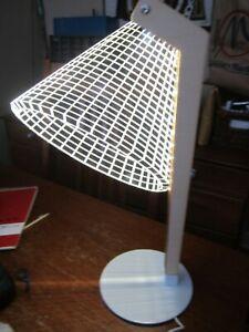 NEW - 3D LED Illusion Desk Lamp Electronics Nightlight
