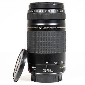 Canon EF 75-300mm F/4.0-5.6 II Ultrasonic EF Zoom Lens