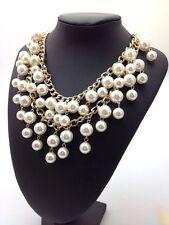 2 Broke Girls Caroline Perlenkette Perlen Halskette Statement Necklace Collier