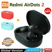 Bluetooth 5.0 Xiaomi Redmi AirDots2 Wireless TWS Earphone Active Earbuds Headset