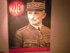 JOURNAL MATCH 23 05 1940  FRONTS DE GUERRE / GENERAL WEYGAND