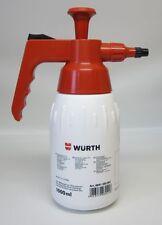 1 Würth Pumpsprühflasche 1000ml Sprühflasche unbefüllt Handsprüher