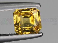 Ceylon Yellow Sapphire 0.52ct VS Octagon Loose Natural Gemstone 4.8x4.8mm (5x5mm