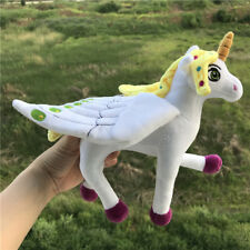 Unicorn Soft Plush Cute Horse Toy, Mia and Me Cartoon Gifts Kids 9 inches 1Pcs