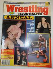 Pro Wrestling Illustrated Magazine Sgt. Slaughter Winter 1984 022415r