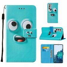 Samsung Galaxy S21 Hülle Case Handy Cover Schutz Tasche Flip Schutzhülle Blau