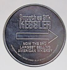 1975 N.Y. GIANTS Football Schedule Coin Kessler Whiskey SPINNER Token