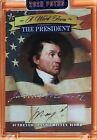 2020 A Word From POTUS ** A WORD FROM ** JAMES MONROE ~ HANDWRITTEN  ~E