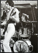 THE WHO POSTER PAGE 1968 KEITH MOON & PETE TOWNSHEND . NOT CD DVD