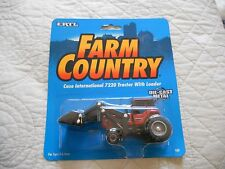 Ertl Farm Country Toy Machines Case IH  7220 Loader Tractor MIP 1/64!!