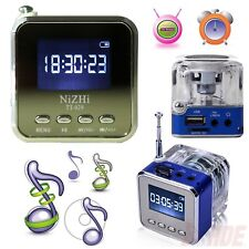 Mini Portable LCD HiFi MP3/4 Music Player USB Disk Micro SD/TF FM Radio Speaker