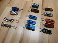 Hot Wheels diecast toy car custom keyring