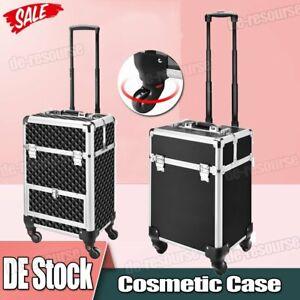 Kosmetikkoffer Beautycase Schminkkoffer Friseurkoffer Trolley Nageldesignkoffer