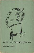 Cob - Cobb Shinn? Caricature Comic Asian Man? 1907 Postcard