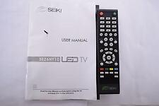 SEIKI SE26HY10 TV REMOTE CONTROL AND USER'S GUIDE 20519