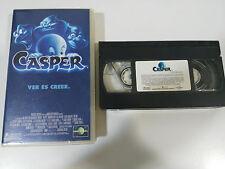 CASPER VER ES CREER VHS TAPE CINTA COLECCIONISTA CHRISTINA RICCI BILL PULLMAN