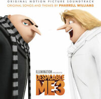 DESPICABLE ME 3 Original Soundtrack CD BRAND NEW Pharrell Williams A-Ha Madonna