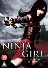 DVD:NINJA GIRL - NEW Region 2 UK