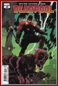 "DEADPOOL #10 (2019) 1ST FULL APPEARANCE GOOD NIGHT ""BATMAN"" MARVEL COMICS NM-"