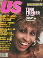 US Magazine Aug 12 1985 - Tina Turner Cover - Lorenzo Lamas - No Label EX