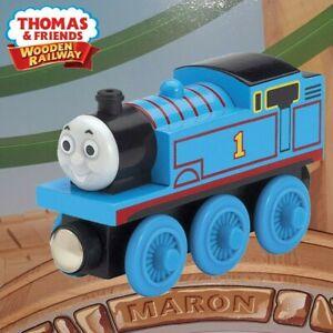 THOMAS & FRIENDS WOODEN RAILWAY ~ THOMAS ~ RARE 2003 ABSOLUTELY MINT OPEN BOX!