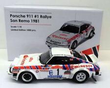 Voitures de courses miniatures en plastique pour Porsche 1:18