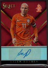 Arjen Robben #01/10 Auto Red 2015 Panini Select Signatures Autograph Netherlands