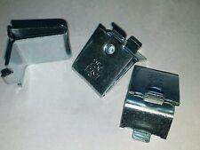 Knape & Vogt 256ZC Adjustable Zinc Steel Pilaster Shelf Support Clip Pack Of 20
