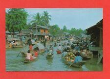 Thaïlande - Wad Sai Floating Market, Dhonburi   (D5452)
