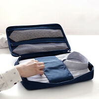 Men Portable Travel Shirt Case Tie Clothes Storage Bag Organizer Dust Protection