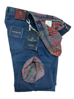 Jeans Tramarossa Mod. LEONARDO BOTTONI - Denim Soft QUADRO 6 COLOR