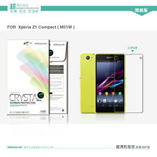 Nillkin Super Clear Crystal Screen Film Protector for Sony Xperia Z1 Compact
